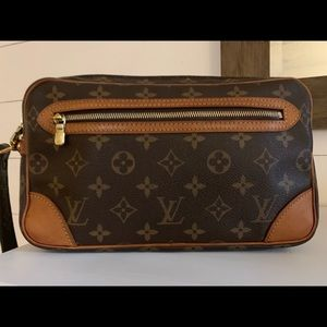 Authentic Louis Vuitton GM Marly Dragonne
